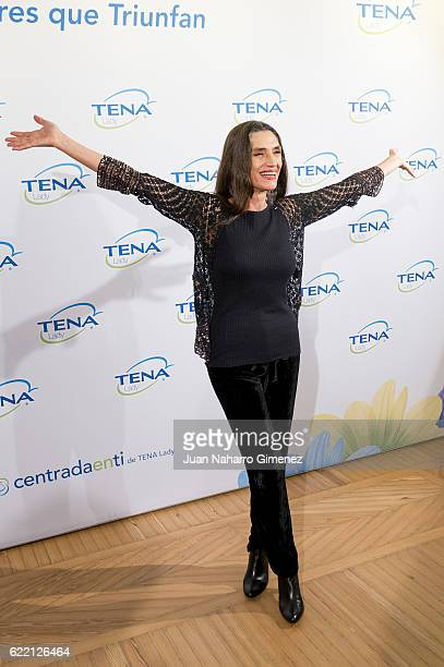 MADRID SPAIN NOVEMBER Angela Molina attends 'IV Premio TENA Lady A Las Mujeres Que Tirunfan' on November 10 2016 in Madrid Spain