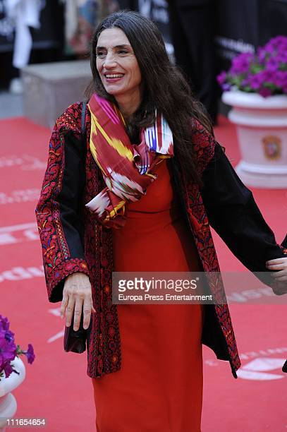 Angela Molina attends the 14th Malaga Film Festival closing ceremony at Cervantes Theatre on April 3 2011 in Malaga Spain
