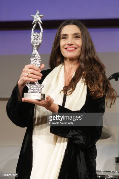Angela Molina attends the first day of the 14th Annual Capri Hollywood International Film Festival on December 27 2009 in Capri Italy