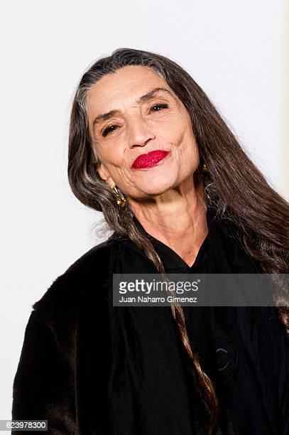 Angela Molina attends the 'LOEWE Past Present Future' inauguration exhibition at Jardin Botanico on November 17 2016 in Madrid Spain