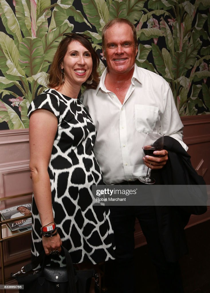 Angela Molloy and Jim Antonsen attends WE tv's LOVE BLOWS Premiere Event at Flamingo Rum Club on August 16, 2017 in Chicago, Illinois.