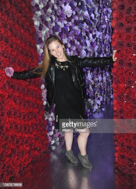 Angela Morelli attends Partywith Season 2 Media Preview Day held at Westfield Santa Anita on February 1 2019 in Arcadia California