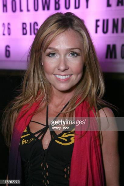 Angela Peterson attends 'DC Entertainment Presents New Zealand Sensation Damian Brell' at The Mint on March 21 2010 in Los Angeles California