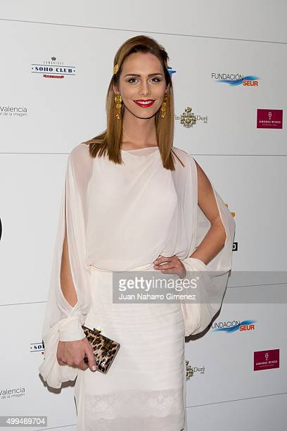 Angela Ponce attends 'Algo Esta Pasando' photocall at Cambridge Soho Club on December 1 2015 in Madrid Spain