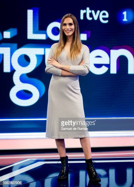 Angela Ponce attends Lo Siguiente' RTVE Presentation in Madrid on October 23 2018 in Madrid Spain
