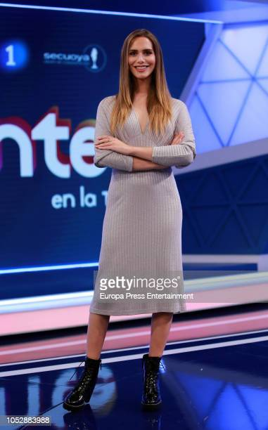 Angela Ponce attends 'Lo Siguiente' RTVE presentation on October 23 2018 in Madrid Spain