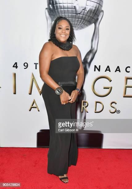 Angela Proctor at the 49th NAACP Image Awards on January 15 2018 in Pasadena California