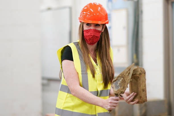 GBR: Angela Rayner Visits Hartlepool College Of Further Education