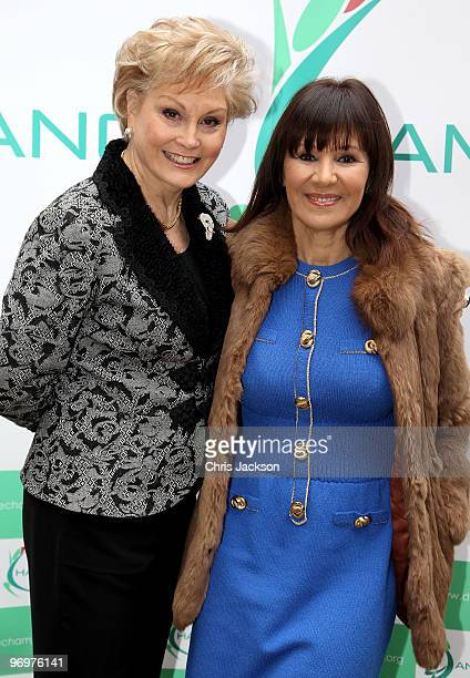 Angela Rippon and Arlene Philips pose for a photograph to launch the 'Dance Champions Dance Summit' at Haberdasher's Hall on February 23 2010 in...