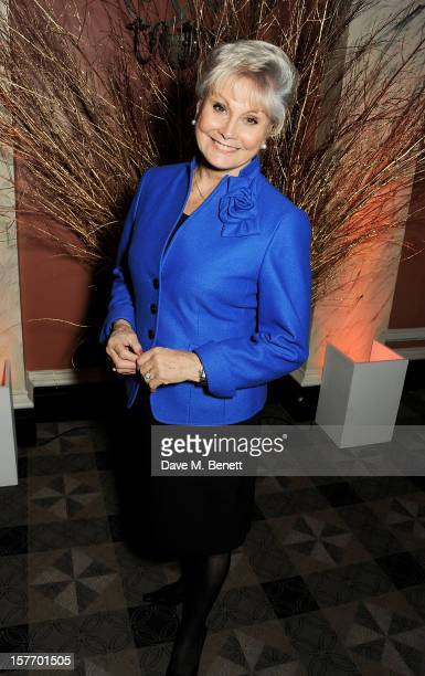 Angela Rippon attends an after party celebrating the press night performance of 'The Bodyguard' at on December 5 2012 in London England