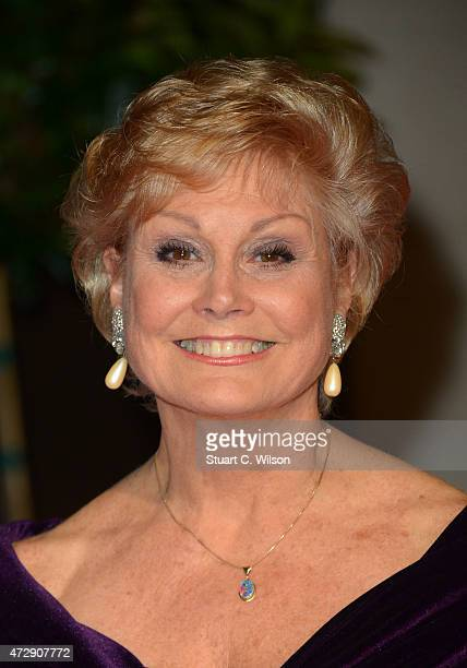 Angela Rippon attends the After Party dinner for the House of Fraser British Academy Television Awards at The Grosvenor House Hotel on May 10 2015 in...