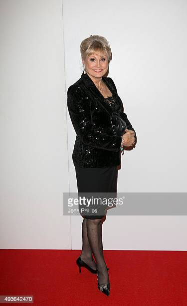 Angela Rippon attends the Daily Mirror RSPCA Animal Hero AWards at 8 Northumberland Avenue on October 21 2015 in London England