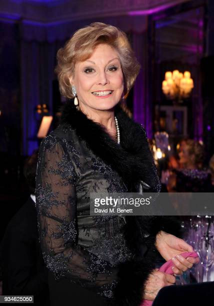 Angela Rippon attends the English National Ballet's Spring Gala 2018 at The Dorchester on March 19 2018 in London England