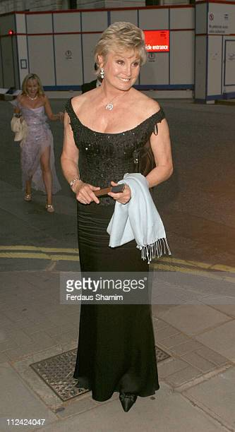 Angela Rippon during British Red Cross Ball International Gala Event at Foreign And Commonwealth Office in London Great Britain