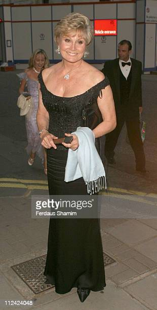 Angela Rippon during British Red Cross Ball- International Gala Event at Foreign And Commonwealth Office in London, Great Britain.