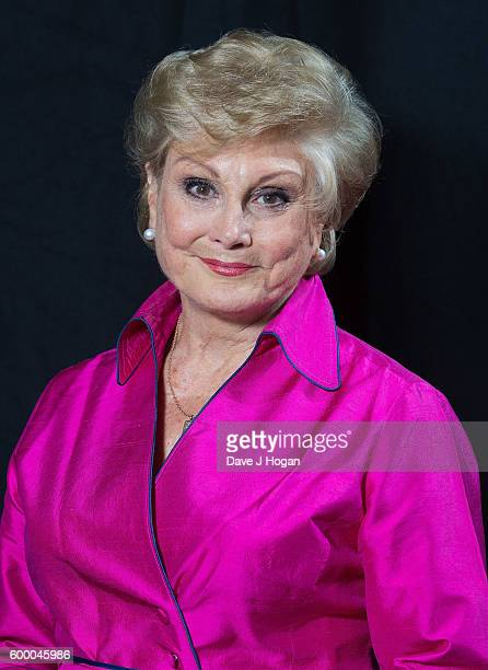 Angela Rippon poses backstage at the Daily Mirror and RSPCA Animal Hero Awards at Grosvenor House on September 7 2016 in London England