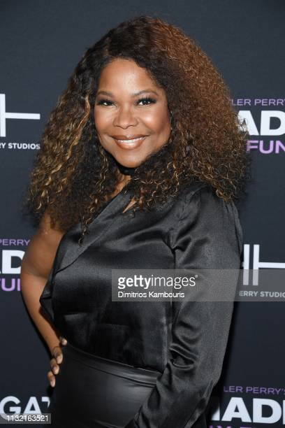 Angela Robinson attends a screening for Tyler Perry's A Madea Family Funeral at SVA Theater on February 25 2019 in New York City