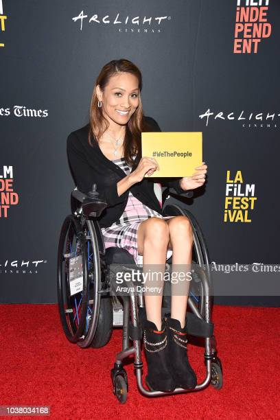 Angela Rockwood attends the 2018 LA Film Festival We The People The Invisible Minority People with Disabilities at Writers Guild Theater on September...