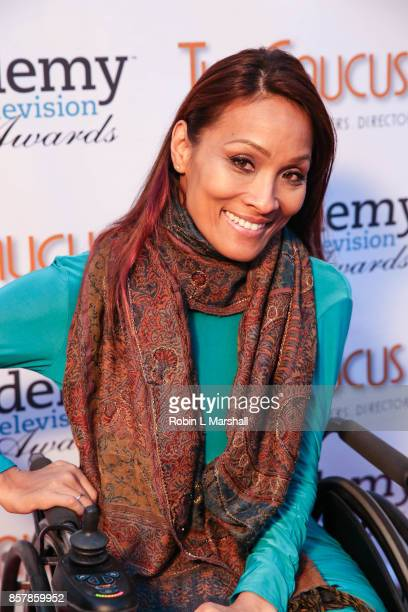 Angela Rockwood attends the 5th Annual International Academy of Web Television Awards at Skirball Cultural Center on October 4 2017 in Los Angeles...
