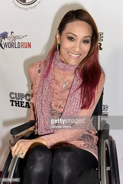 Angela Rockwood attends the official launch of the EPIC Project at Cupcake Theater on January 26 2017 in Los Angeles California