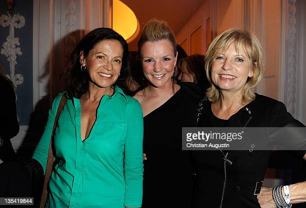 Angela Roy KimSarah Brandts and Sabine Postel attend Movie meets Media at the Hotel Atlantic on December 9 2011 in Hamburg Germany
