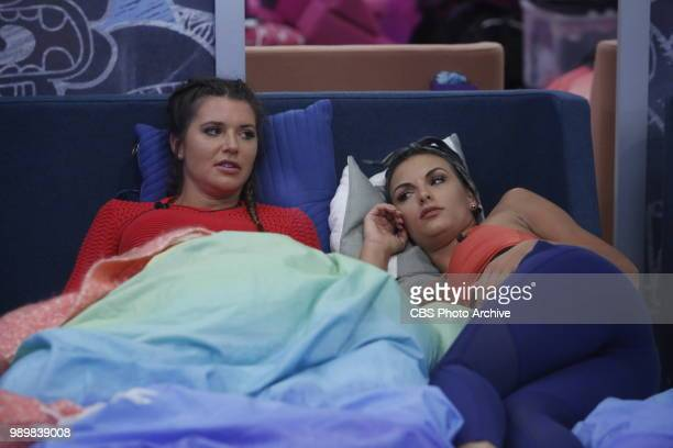 Angela Rummans and Rachel Swindler in the Big Brother house BIG BROTHER follows a group of people living together in a house outfitted with 94 HD...