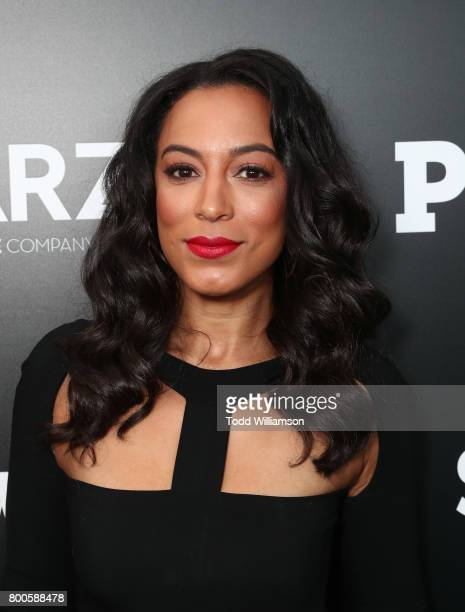 Angela Rye attend STARZ 'Power' Season 4 LA Screening And Party at The London West Hollywood on June 23 2017 in West Hollywood California