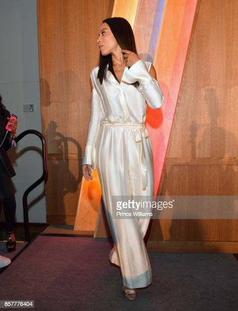 Angela Rye attends A3C Welcome to Atlanta Reception at the Loudermilk Conference Center on October 4 2017 in Atlanta Georgia
