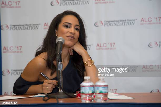Angela Rye attends OWN's 'Released' Screening at Walter E Washington Convention Center on September 20 2017 in Washington DC