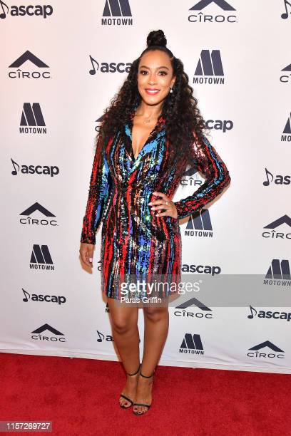 Angela Rye attends the 2019 ASCAP Rhythm Soul Music Awards at Regent Beverly Wilshire Hotel on June 20 2019 in Beverly Hills California