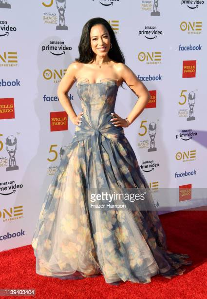 Angela Rye attends the 50th NAACP Image Awards at Dolby Theatre on March 30 2019 in Hollywood California