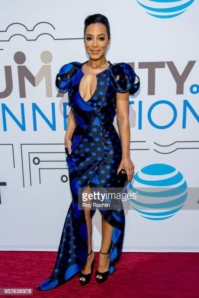 Angela Rye attends 'The Humanity of Connection' New York screening at Jazz at Lincoln Center on March 15 2018 in New York City