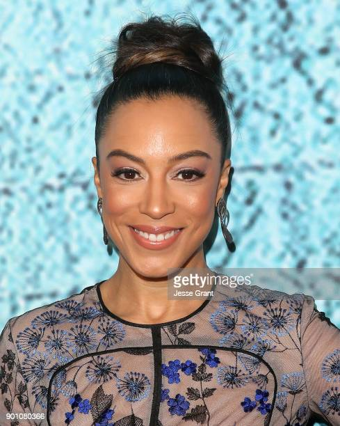 Angela Rye attends the premiere of Showtime's 'The Chi' at Downtown Independent on January 3 2018 in Los Angeles California