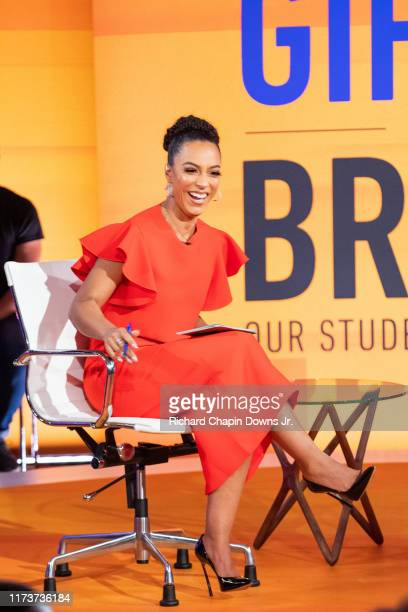 Angela Rye during BET News presents an Angela Rye Special Young Gifted and Broke Our Student Loan Crisis at Howard Theater on September 10 2019 in...
