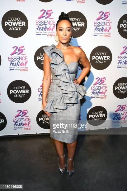 Angela Rye speaks on stage at 2019 ESSENCE Festival Presented By CocaCola at Ernest N Morial Convention Center on July 06 2019 in New Orleans...