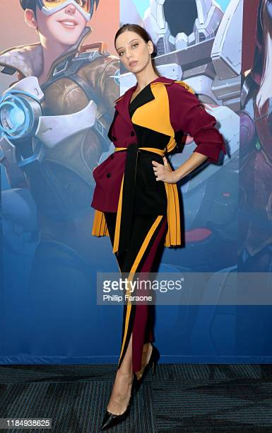 Angela Sarafyan arrives at BlizzCon 2019 at the Anaheim Convention Center in Anaheim CA on Nov 1 2019