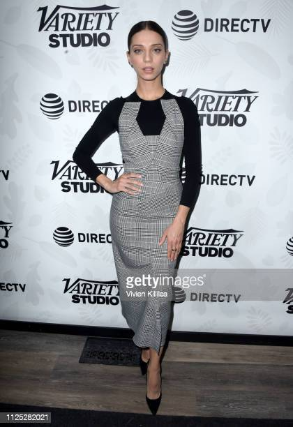 "Angela Sarafyan at the ""Extremely Wicked Shockingly Evil and Vile"" party at DIRECTV Lodge presented by ATT at Sundance Film Festival 2019 on January..."