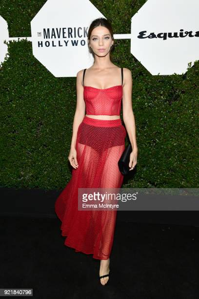 Angela Sarafyan attends Esquire's 'Mavericks of Hollywood' Celebration presented by Hugo Boss on February 20 2018 in Los Angeles California