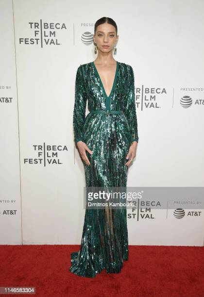 """Angela Sarafyan attends """"Extremely Wicked, Shockingly Evil And Vile"""" - 2019 Tribeca Film Festival at BMCC Tribeca PAC on May 02, 2019 in New York..."""