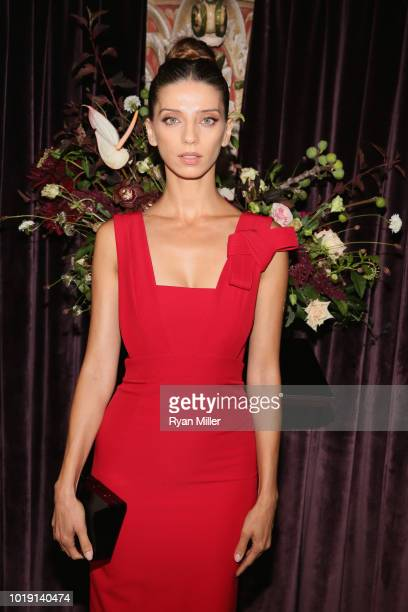 Angela Sarafyan attends Harper's BAZAAR and the CDG celebrate Excellence in Television Costume Design with the Emmy Nominated Costume Designers and...