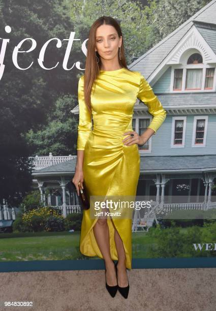 Angela Sarafyan attends HBO's Sharp Objects Los Angeles premiere at ArcLight Cinerama Dome on June 26 2018 in Hollywood California