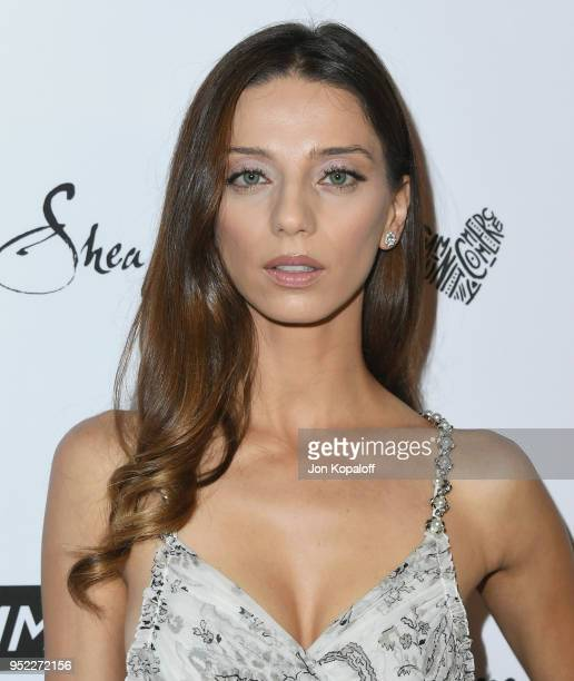 Angela Sarafyan attends Marie Claire's 5th Annual 'Fresh Faces' at Poppy on April 27 2018 in Los Angeles California