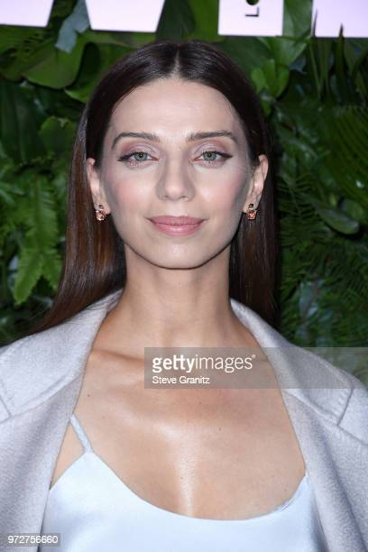 Angela Sarafyan attends Max Mara WIF Face Of The Future at Chateau Marmont on June 12 2018 in Los Angeles California
