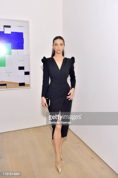 Angela Sarafyan attends the 12th Annual Women in Film Oscar Nominees Party Presented by Max Mara with additional support from Chloe Wine Collection,...