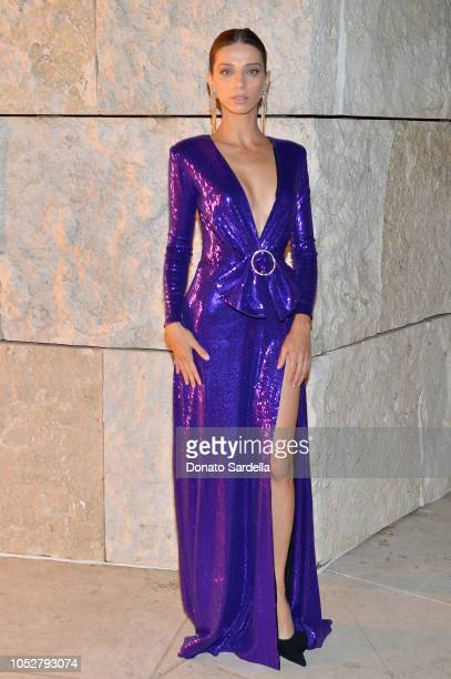 Angela Sarafyan attends the 2018 InStyle Awards at The Getty Center on October 22 2018 in Los Angeles California