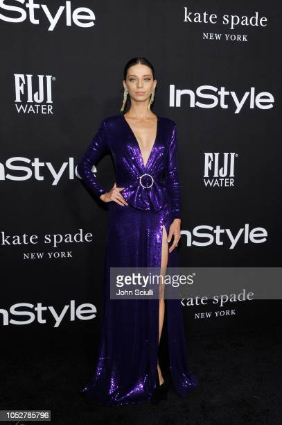 Angela Sarafyan attends the 2018 InStyle Awards with Fiji Water on October 22 2018 in Los Angeles California