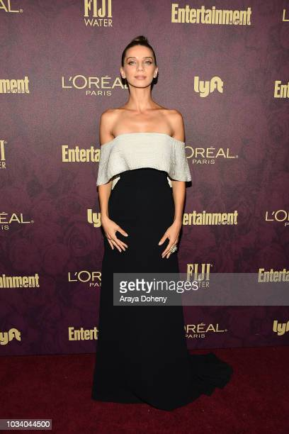 Angela Sarafyan attends the 2018 Pre-Emmy Party hosted by Entertainment Weekly and L'Oreal Paris at Sunset Tower Hotel on September 15, 2018 in West...