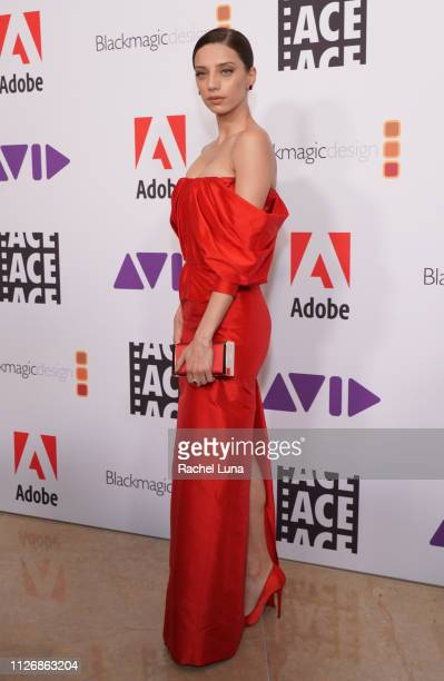Angela Sarafyan attends the 69th Annual ACE Eddie Awards at The Beverly Hilton Hotel on February 01 2019 in Beverly Hills California