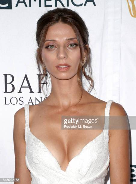 Angela Sarafyan Attends The Bbc America Bafta Los Angeles Tv Tea Party  At The Beverly