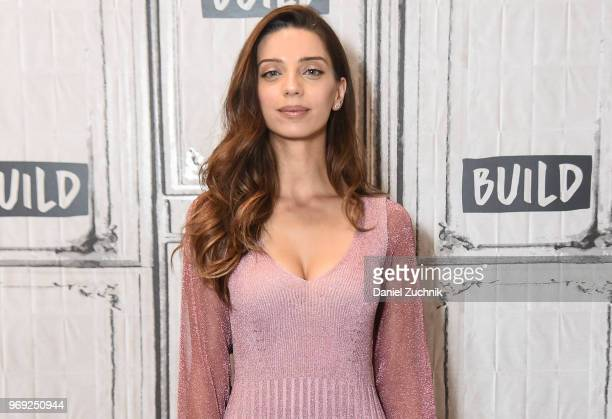Angela Sarafyan attends the Build Series to discuss the HBO show 'Westworld' at Build Studio on June 7 2018 in New York City